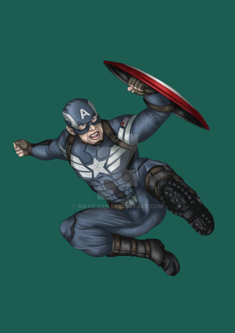 Captain America by Mayo-san