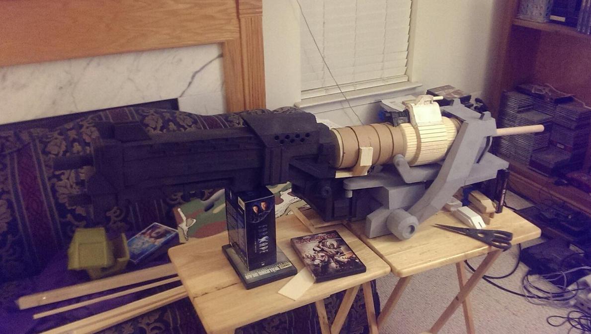 Halo Reach WIP 15 - The Gun Show 2: The Gunnening by Ivorybacon