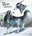 Daevinn-reference [personal art] by Skogvadr