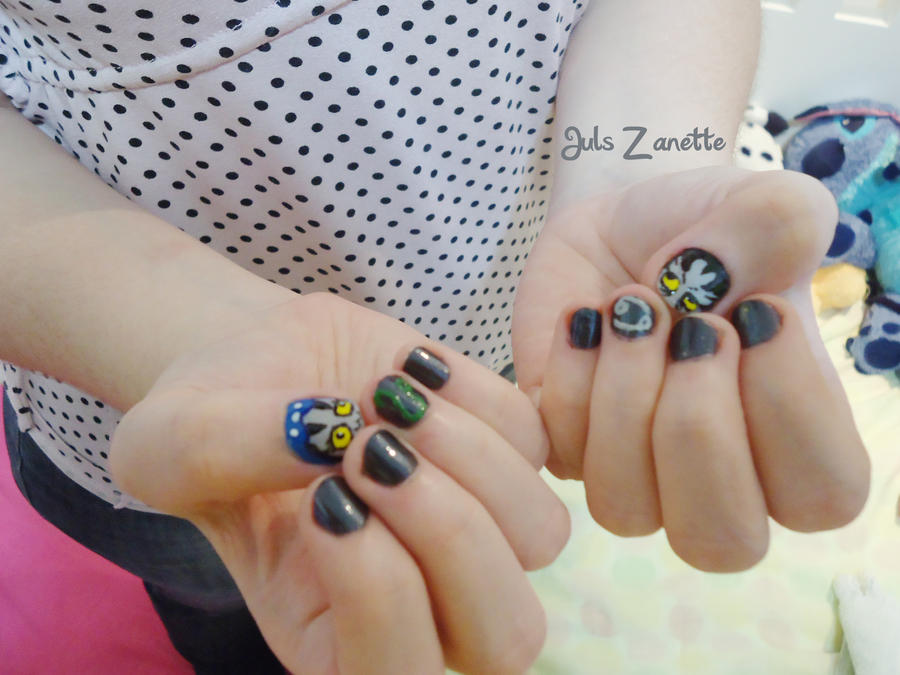 Homestuck nail art by julszanette on DeviantArt on equis and nepeta drawing, equis troll, equis gamzee eridan feferi,