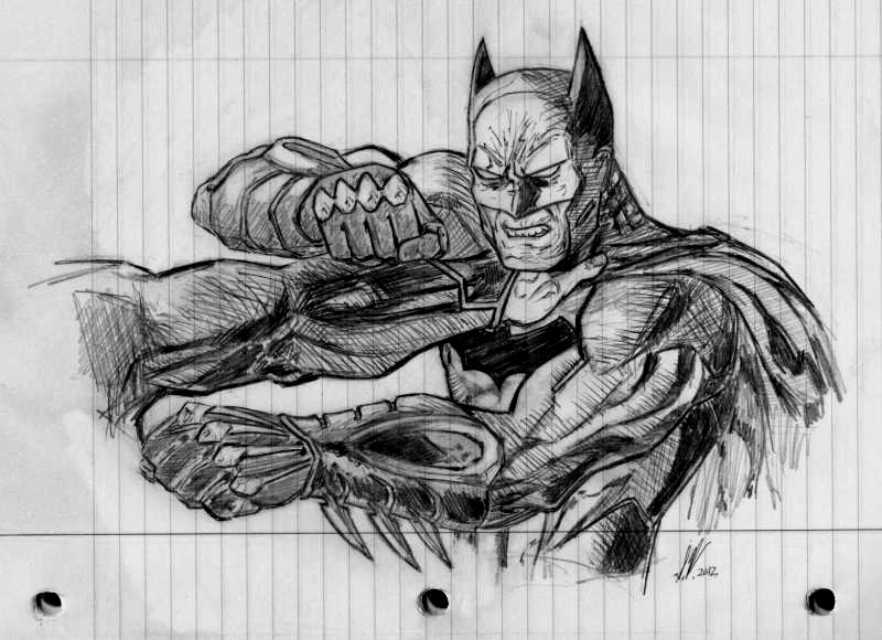 Batman VS Superman Sketch By SWArtwork On DeviantArt