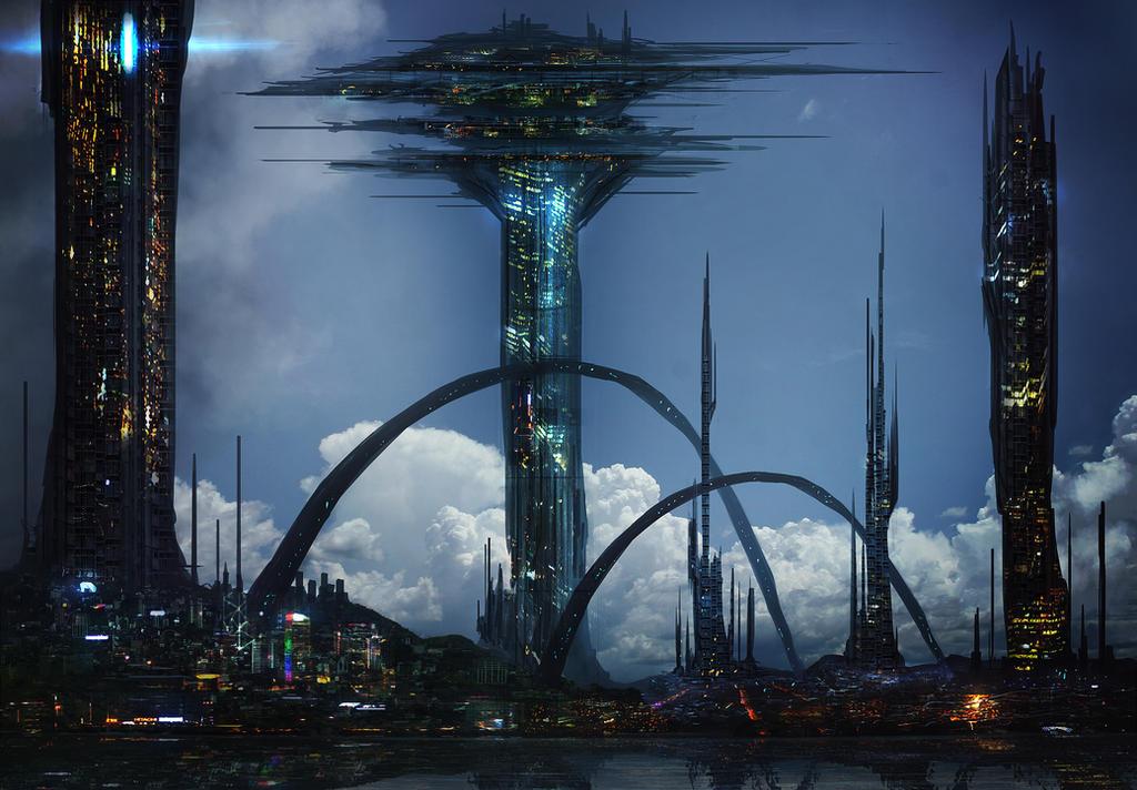 City sketch 2 by JoseArias