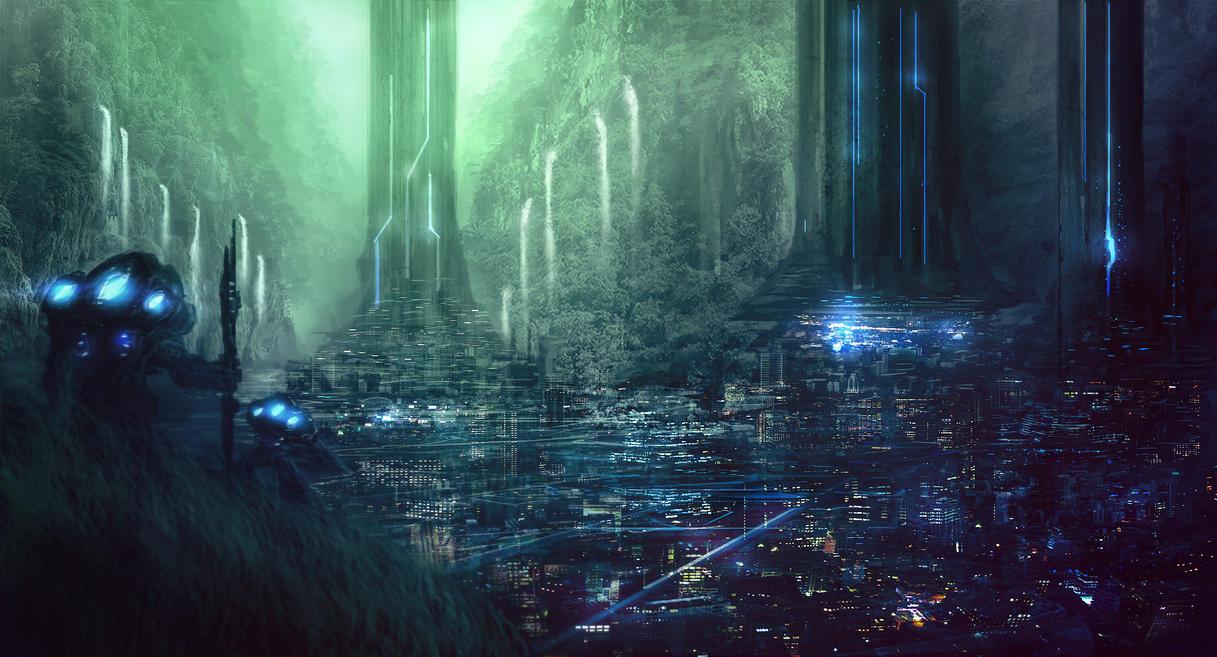 Jungle City by JoseArias
