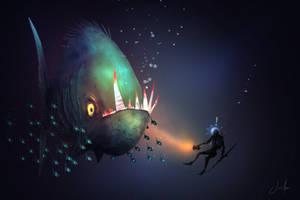 Piranha by JoseArias