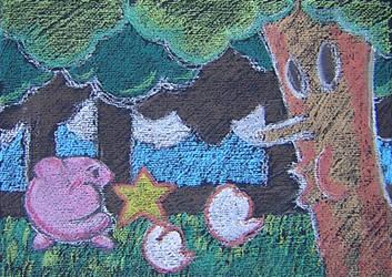 Wispy Woods by arcade-art