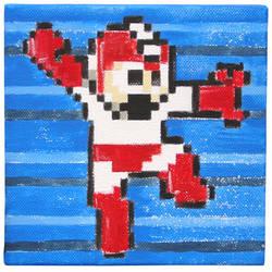 Rockman Red - Mega Man by arcade-art