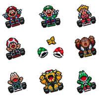 Super Mario Kart Collection by arcade-art