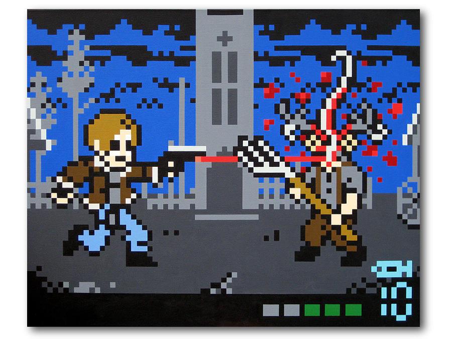 Los Illuminados Resident Evil