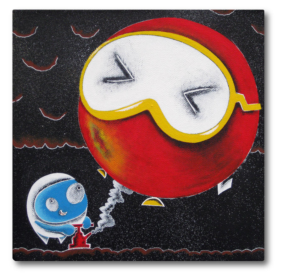 Job Satisfaction - Dig Dug by arcade-art