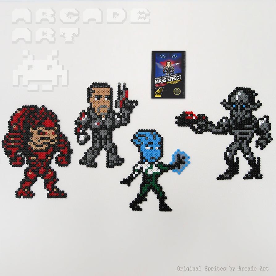 Mass Effect - NES Custom Set by arcade-art