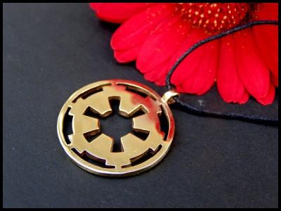 Star Wars Galactic Empire Pendant by BaldurJewelry