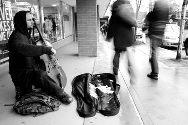 The Cellist by JA-Malone