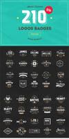 200+ Logos Badges Vector Bundle