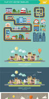 City Element Vector - Flat Design by creatily