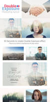 Double Exposure Photoshop Action by creatily