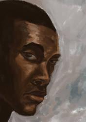 Self Portrait 2014 by hawthornearts