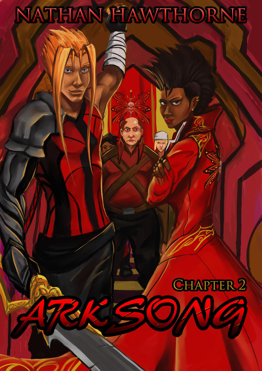 Arksong Chapter 2 Cover by hawthornearts