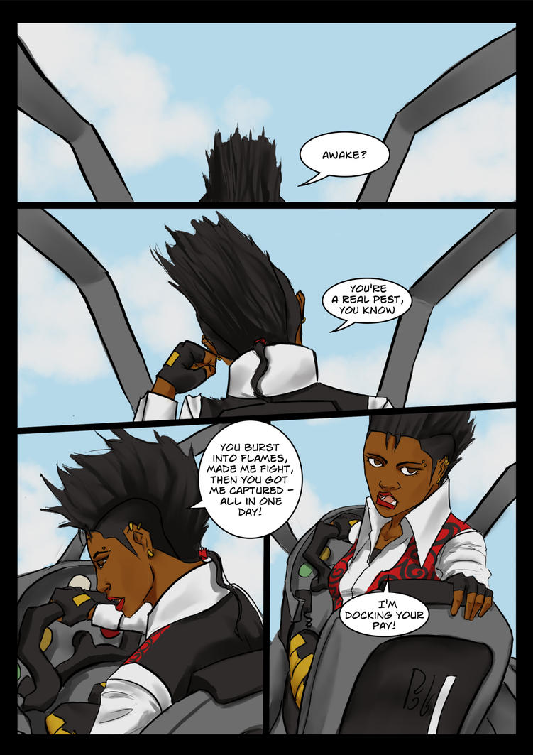 Arksong Chapter 3 Page 1 by hawthornearts