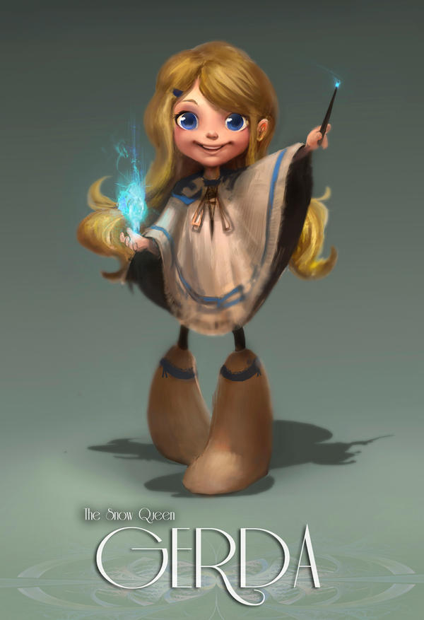 Animation Character Design Theory : Gerda by rossdraws on deviantart