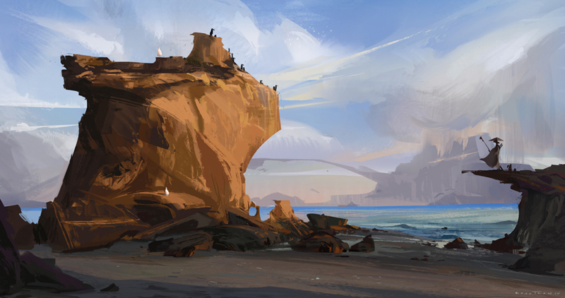 El Matador Beach by Rossipoo
