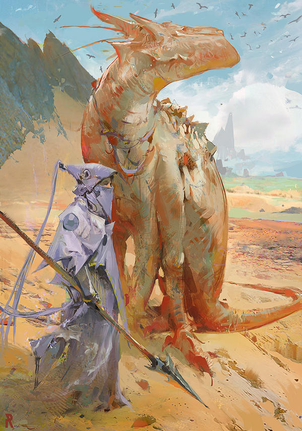 Some Camel...Dragon thing. by rossdraws