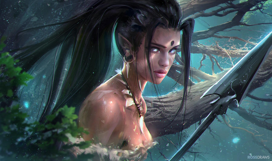 NIDALEE : Youtube! by rossdraws