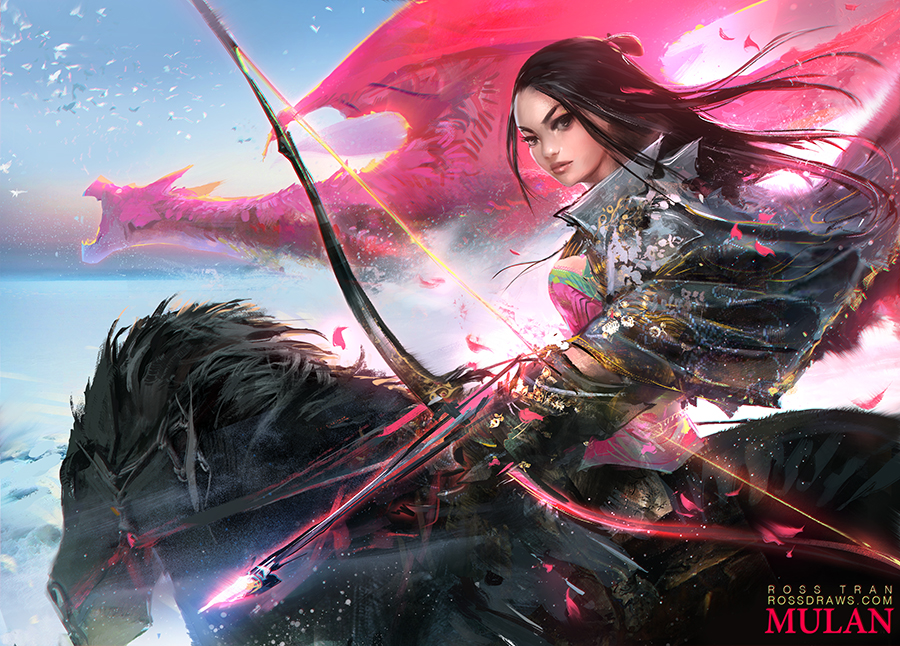 Epic MULAN!: YouTube by rossdraws