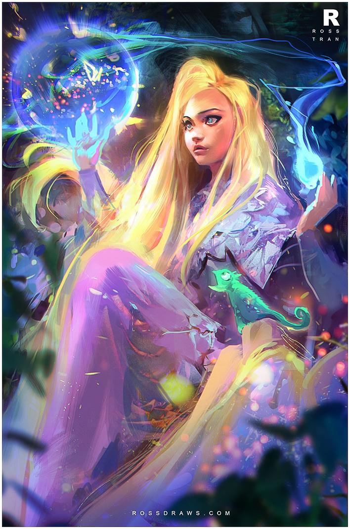Tangled / Rapunzel : YouTUBE! by rossdraws