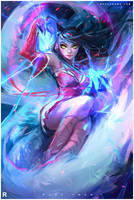 AHRI!: YouTube by rossdraws