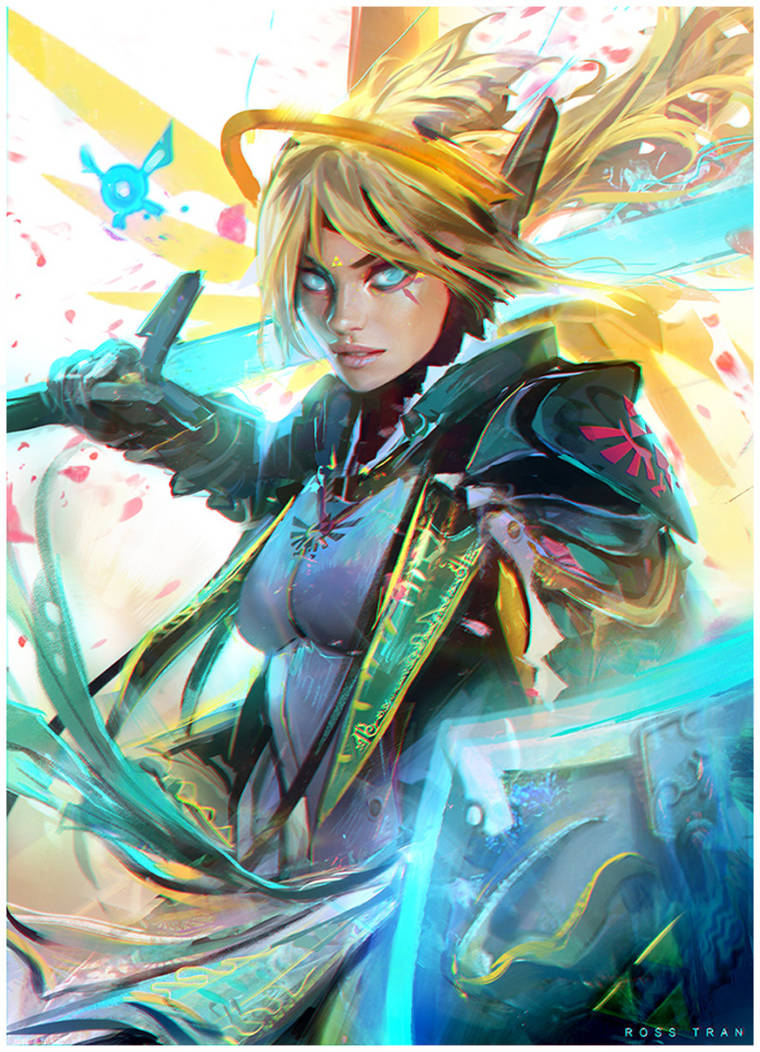 Mercy Link Mash Up! : YouTube by rossdraws