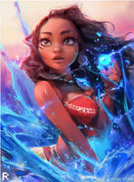 MOANA - YouTube! :) by rossdraws