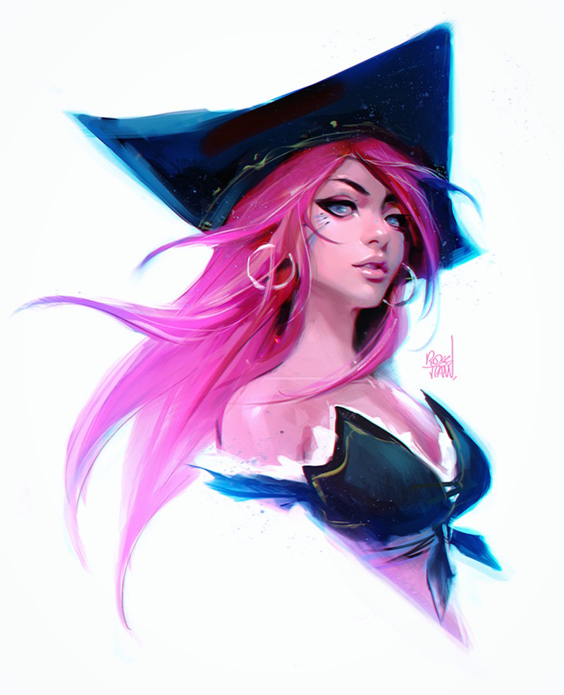 Miss Fortune sketch by rossdraws