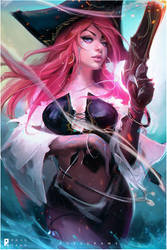 Miss Fortune : YouTube! by rossdraws