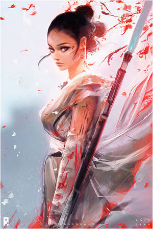 Rey : YouTube! by rossdraws