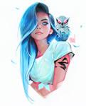 Sapphire by rossdraws