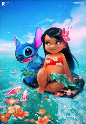 Lilo and Stitch : YouTube by rossdraws
