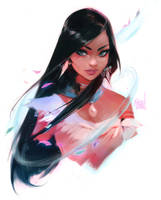 Pocahontas Sketch! by rossdraws