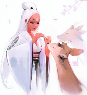 Nima and Deers sketch
