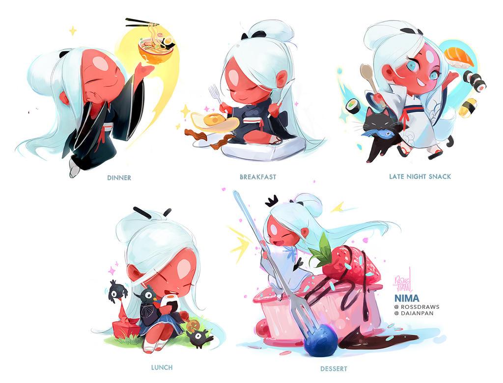 Mini Nimas! by rossdraws