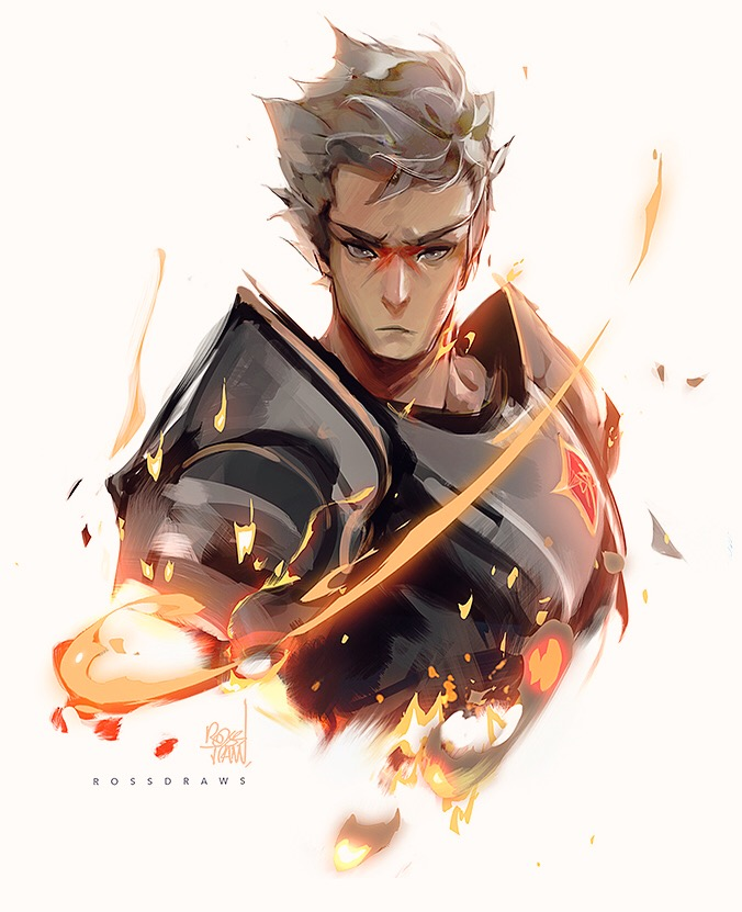 Rowen by rossdraws