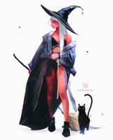 Halloween Nima by rossdraws