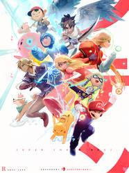 Super Smash Bros. : YouTube!
