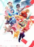 Super Smash Bros. : YouTube! by rossdraws
