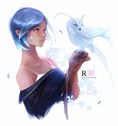 Owly by rossdraws