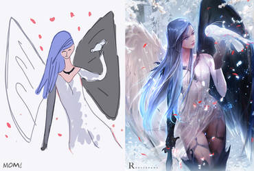 Mom's Character! : YouTube by rossdraws