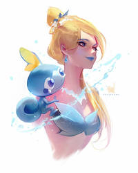 Sobble by rossdraws