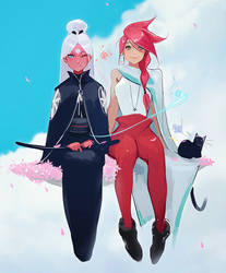 Nima and Faye by rossdraws