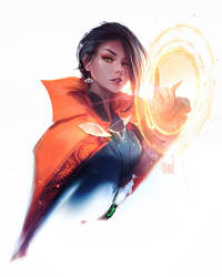Dr Strange by rossdraws