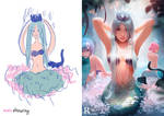 Mermaids - Mother's day! by rossdraws