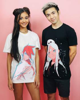 MY OFFICIAL MERCH IS OUT!!